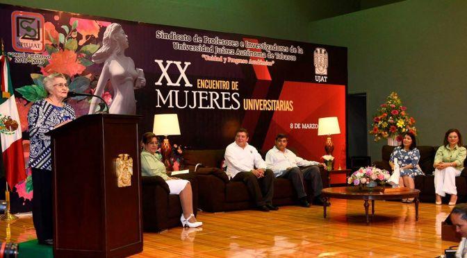 "Profesora de UJAT, Rosa del Carmen Rosado, es  ""Mujer Universitaria 2017"""