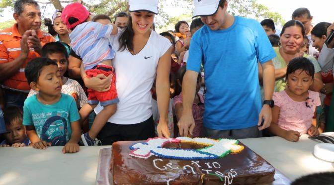 Festejan a niños y niñas de Centro en Parque La Choca