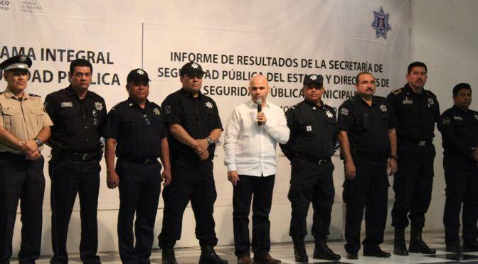 Con 531 detenidos avanza lucha contra inseguridad en Tabasco