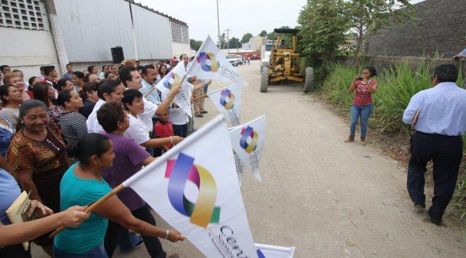 Habitantes de Centro merecen calles de primera: Gaudiano