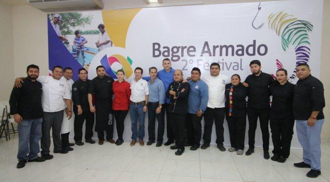 Va 2o Festival del Bagre Armado en Centro con Chefs del país
