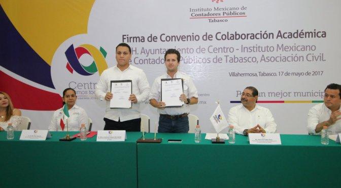 Refrenda Gaudiano su compromiso con la transparencia y cuentas claras en Centro