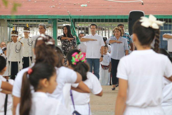 """Fortalece """"Presidente en tu Escuela"""" valores cívicos de estudiantes de Centro"""