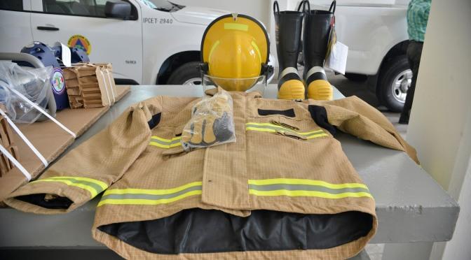 Fortalecen capacidad de respuesta de  bomberos tabasqueños y protección civil