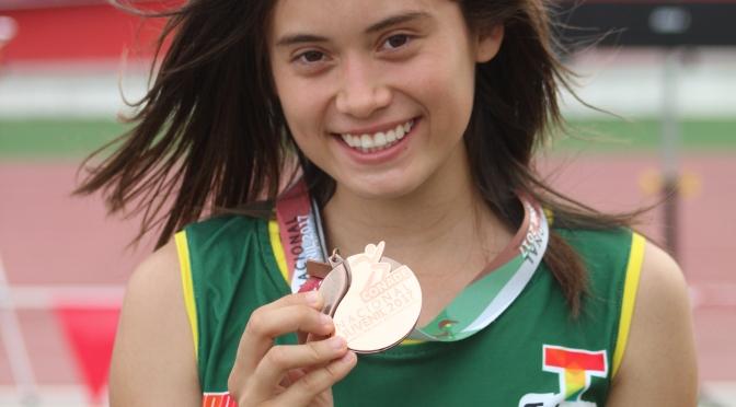 María gana bronce para Tabasco en campeonato nacional de atletismo