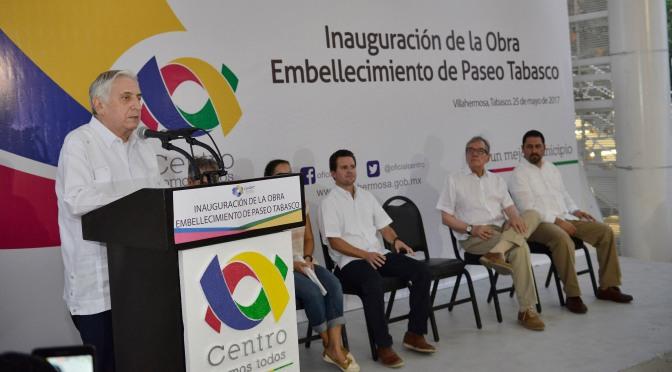 Juntos hacemos que la ciudad se mantenga bella y atractiva: Arturo Núñez