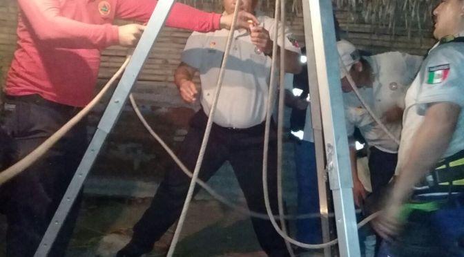 Brinda gobierno estatal apoyo a familiares de fallecidos en pozo en Huimanguillo