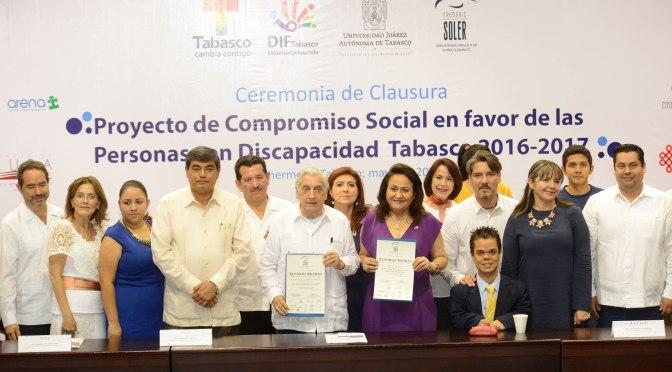 DIF-Tabasco, ejemplo de compromiso y solidaridad