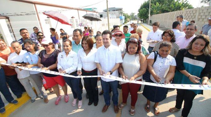 Más de 3 mil habitantes beneficiados con seis calles nuevas de concreto en Gaviotas Sur