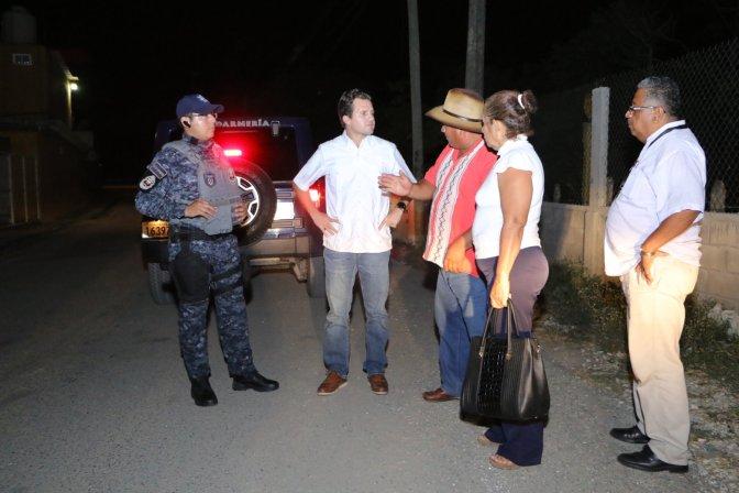 Cumple Gendarmería con seguridad en comunidades de Centro: Gaudiano