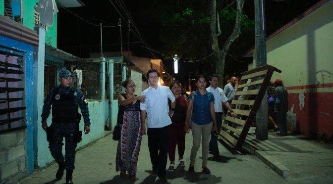 Con Gendarmería, atento Gaudiano a la seguridad de familias de Centro