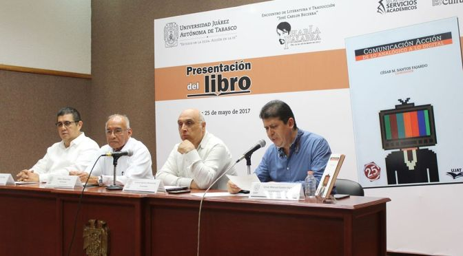 Con libro colectivo, celebra DAEA 25 aniversario de Comunicación en UJAT