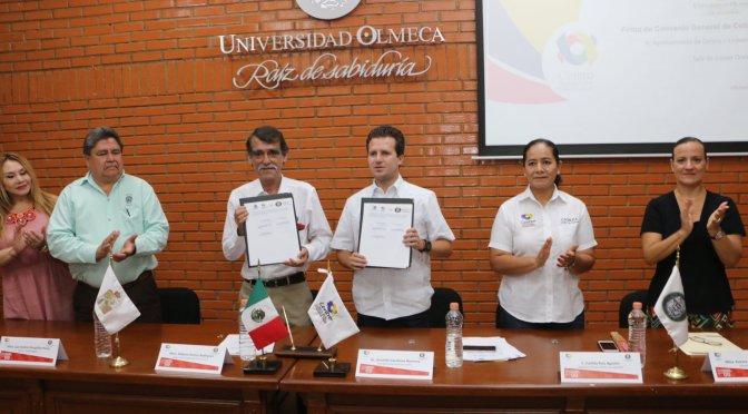 Alianza académica entre Centro y Universidad Olmeca
