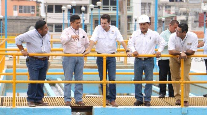 Atento Gaudiano a funcionamiento de Planta Potabilizadora Villahermosa
