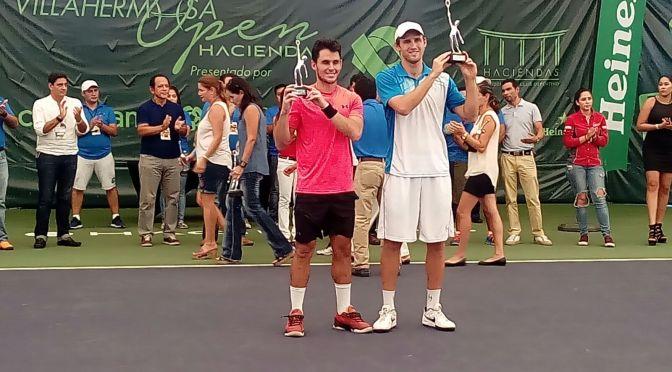 """Con victoria del tenista Kevin King concluye """"Villahermosa Open Haciendas"""""""