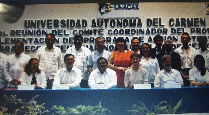 UJAT participa en programa estratégico de conservación marina