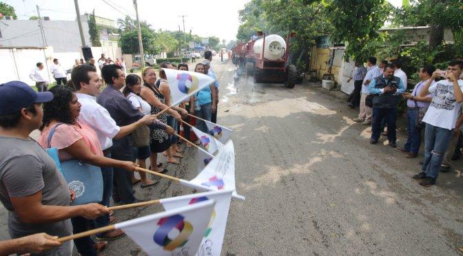 Más de 7 mdp para reconstruir calles y avenidas de Centro