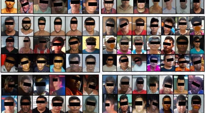 Detención de más de 700 en lo que va de 2017 combate inseguridad en Tabasco