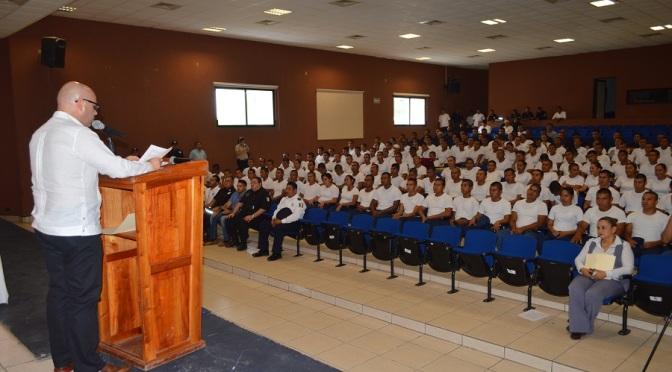 Preparan a 143 cadetes más para fortalecer seguridad de Tabasco
