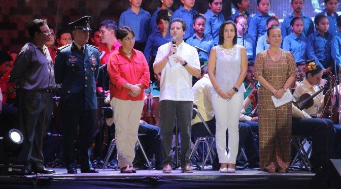 Espectacular inicio del XVI Festival de la Ciudad de Villahermosa