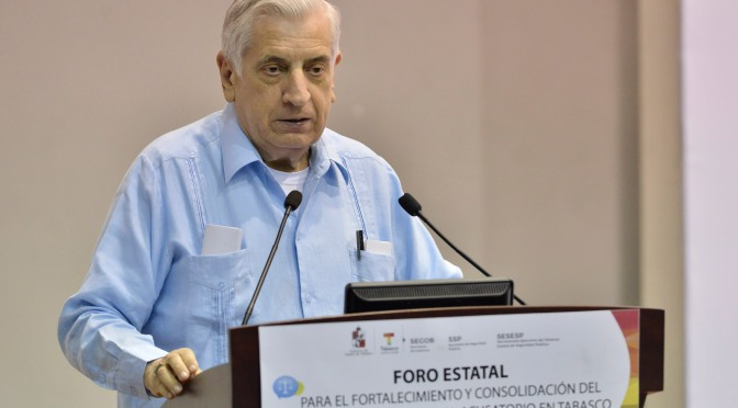 Recobrar confianza ciudada con nuevo sistema de justicia penal: Arturo Núñez