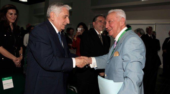 Celebra Tabasco Doctor Honoris Causa del INAP a Enrique González Pedrero