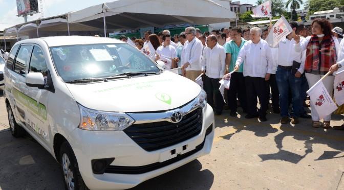 Tiene ya Tabasco servicio de taxis turísticos con aplicación móvil