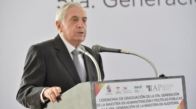 Damos batalla decidida y permanente contra la corrupción: Arturo Núñez