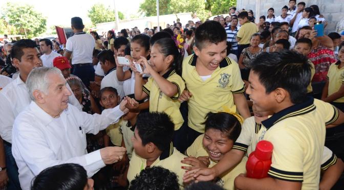 Entregará el gobernador este martes obras a familias de Cárdenas