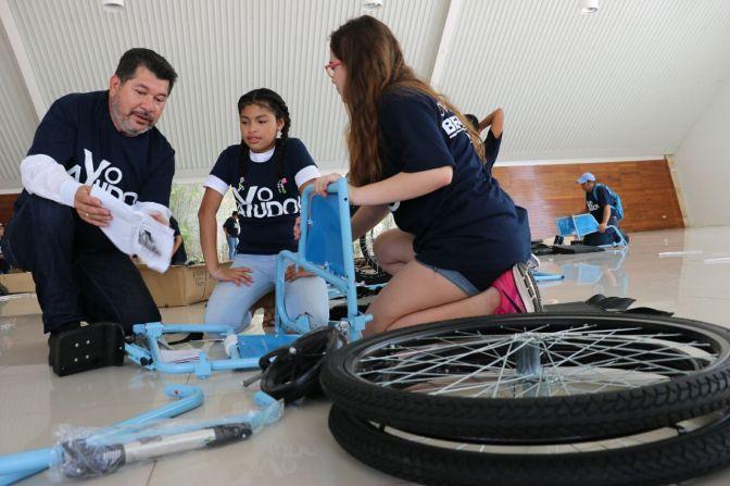 Promueve diputado Cando taller para sensilizar atención a personas que usan sillas de ruedas