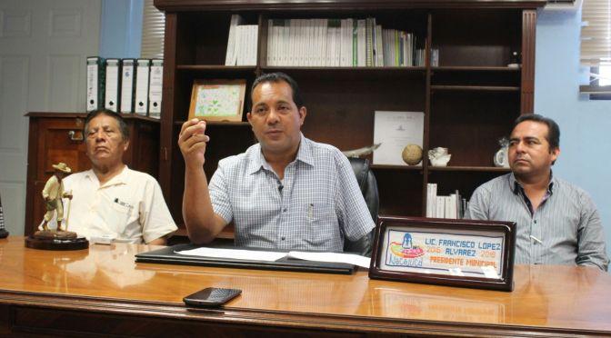 Nacajuca está de pie e invertirá más de 28mdp en obras: Pancho López