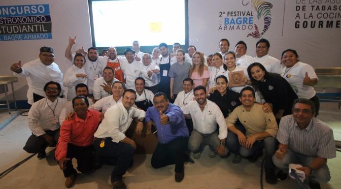 Concluye  exitoso 2do Festival del Bagre Armado