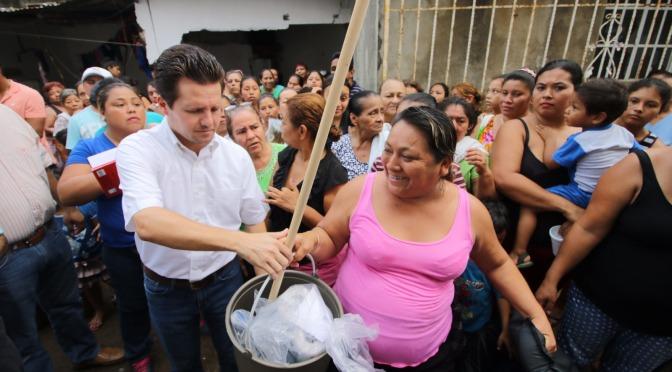 Con apoyo de Federación ayudaremos más a los afectados por lluvias: Gaudiano