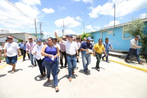 31 07 2017 CONSTRUCCIÓN DE PAVIMENTO HIDRÁULICO EN CALLES PORFIRIO DÍAZ, IGNACIO ALLENDE, CALLE MOCTEZUMA Y C. BACHILLERES - VILLA TAMULTÉ DE LAS SABANAS (1)
