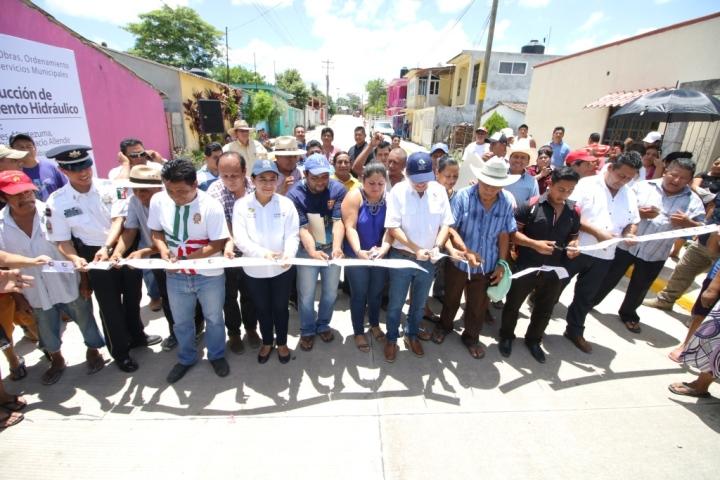 31 07 2017 CONSTRUCCIÓN DE PAVIMENTO HIDRÁULICO EN CALLES PORFIRIO DÍAZ, IGNACIO ALLENDE, CALLE MOCTEZUMA Y C. BACHILLERES - VILLA TAMULTÉ DE LAS SABANAS (4)