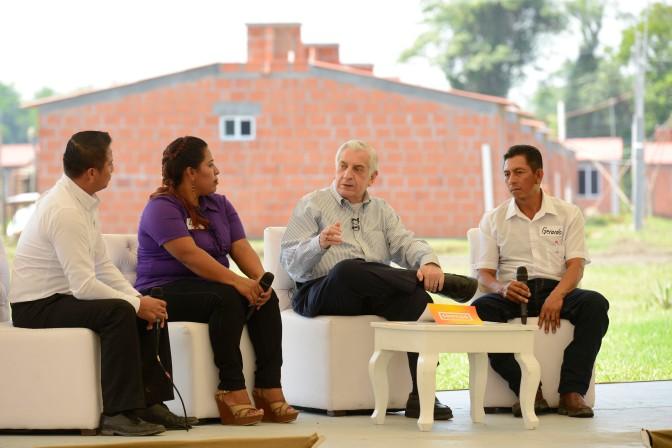 Seguiremos trabajando para mejorar niveles de bienestar de los más desamparados: Arturo Núñez