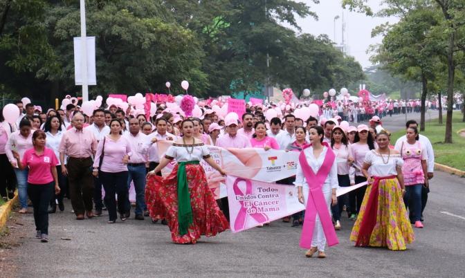 Disminuye mortalidad por cáncer de mama en Tabasco