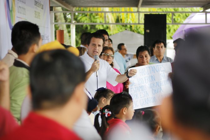 Inicia este mes la colocación de más de 28 mil luminarias para Centro: Gaudiano