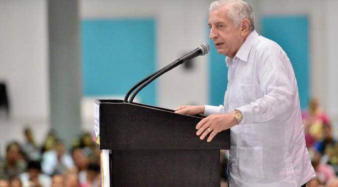 Impulsa educación una mejor sociedad: Arturo Núñez Jiménez
