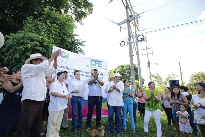 Logran Centro-CFE mayor presión de agua para llevarla a Tamulté de las Sabanas