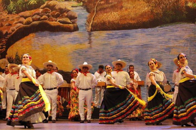 Festeja Compañía de Danza Folklórica de Villahermosa sus 40 años en el escenario
