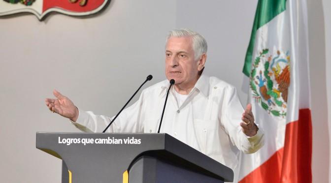 Seguiremos cumpliendo a Tabasco: Núñez
