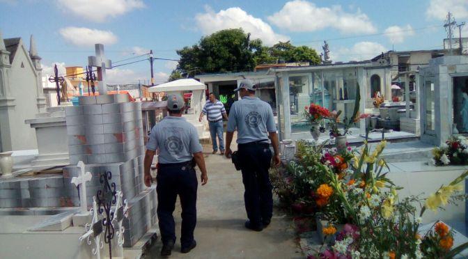 Saldo blanco , reporta Instituto de Protección Civil en panteones