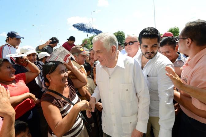 Cumple Núñez a pueblos chontales