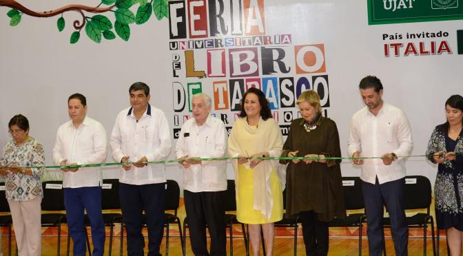 Inaugura Núñez Feria Universitaria del Libro
