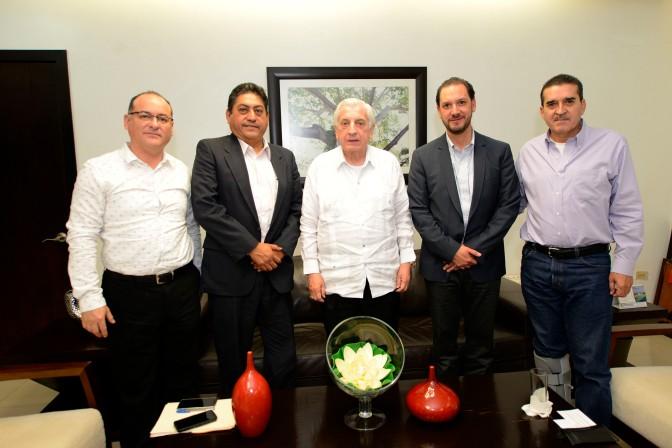Se reúne Núñez con nuevo delegado  de Conagua en Tabasco