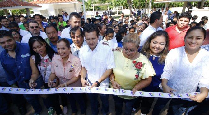 Hace realidad gobierno de Gerardo Gaudiano el Centro Deportivo Comunitario de Gaviotas