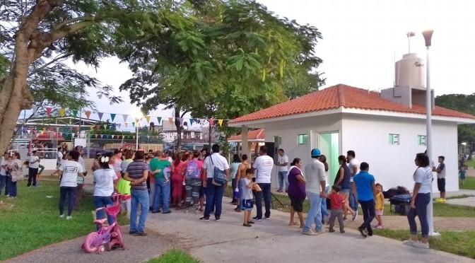 Funciona deportiva de Gaviotas; familias abarrotan el lugar rescatado por Gaudiano