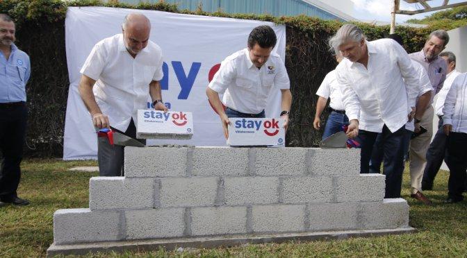 Coloca Gaudiano primera piedra de hotelStay OkVillahermosa; generará hasta 300 empleos