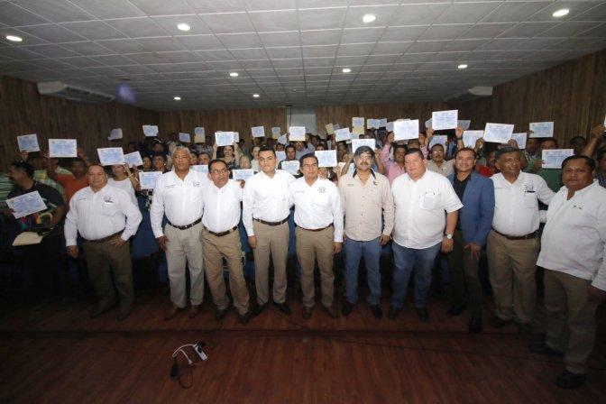 Entrega Centro constancias de Primeros Auxilios a 250 trabajadores del SUTSET